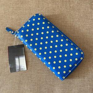 Kimchi Blue polka dot wallet